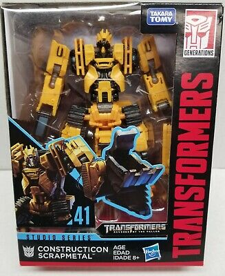Hasbro Transformers Studio Series #41 Constructicon Scrapmetal Action Figure