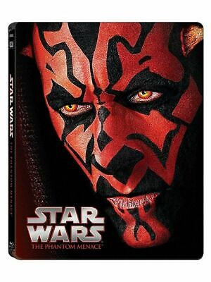 Star Wars I La Menace Fantome Steelbook Blu-ray Edition Limité