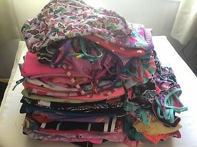 103 Items Girls Age 7-8 Years Swim Wear Various Items Used Condition