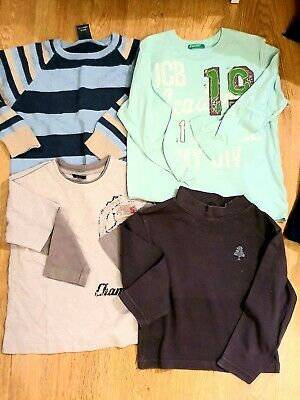 Boys Small Bundle Long Sleeve Tops Casual Age  2-3