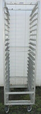 Aluminum Baker's SHEET/BUN 20 PAN RACK, Channel Manufacturing