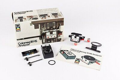 Durst Colorneg 3 Colour Analyser And Luxoneg 3 Exposure Meter. Boxed, Exc+++