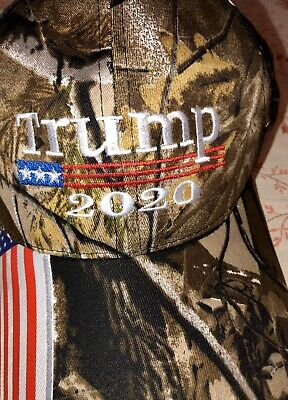 HOT 2019 Donald Trump 2020 Cap USA Flag Camouflage Baseball Cap Hat Make Great