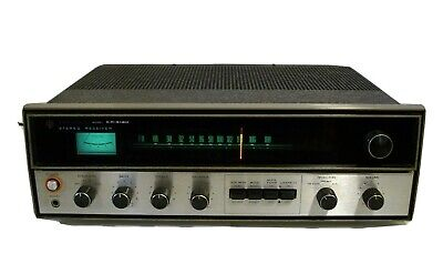 Kenwood KR-4130 Stereo Receiver Amplifier Tuner Tested and Works Great
