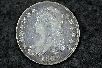 Estate Find 1808 / 7 Capped Bust Half Dollar  #D26262