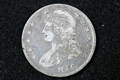 Estate Find 1834 Capped Bust Half Dollar  #D19149