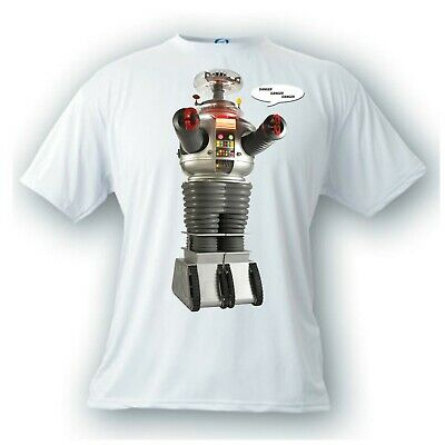 Lost in Space B-9 robot vintage image danger TV t-shirt will robinson