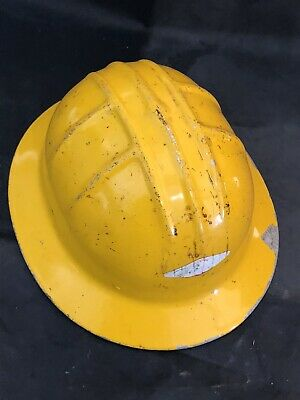 Vintage Jackson Hard Hat Mcculloch Yellow