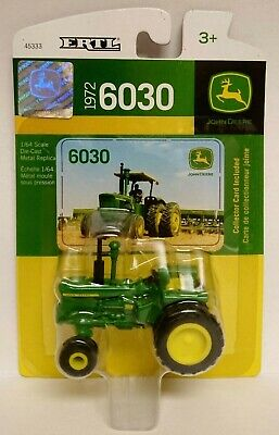 ERTL John Deere 6030 Open Station Tractor w/2WD and Rear Singles NIP 1 64 NICE!!