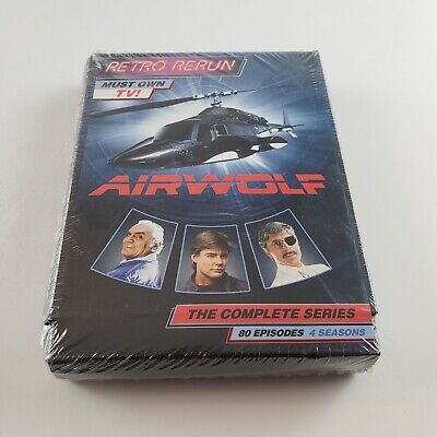 Airwolf - The Complete Series - DVD BOX SET   79 EPISODES - FREE SHIPPING - READ