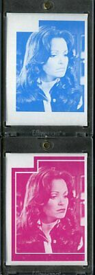 1977 Topps Charlies Angels Color Separation Proof Cards. #232