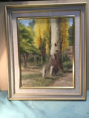 B Acford From Seymour To Seville Framed Oil Painting