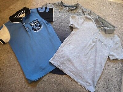 3 Boys Tops Aged 6 Next, River Island and Primark