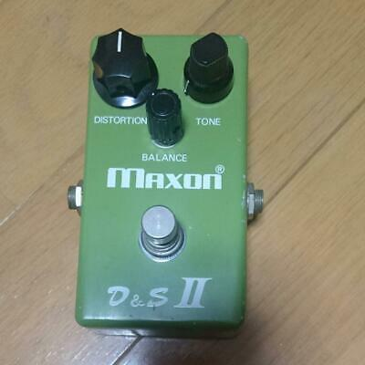 D&S II Maxon Free Shipping Distortion Guitar Effect Pedal Used From Japan (HYAO)