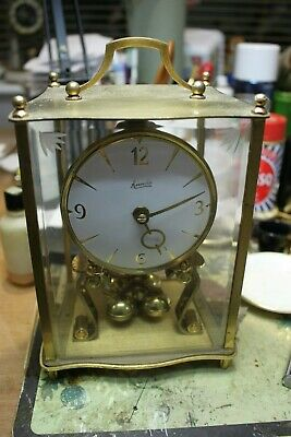 4/glass Kundo Anniversary Clock 400 Day clock torsion clock mantle clock.