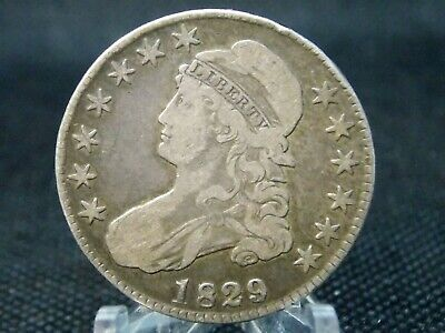 1929 Capped Bust Silver Half Dollar 50c #2 East Coast Coin & Collectables, Inc.