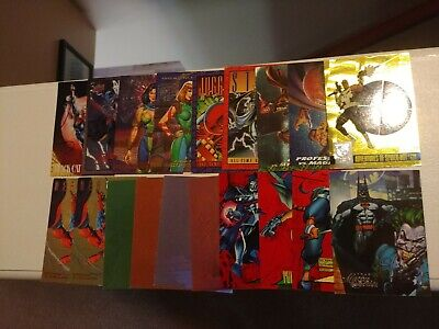 Bulk Lot of 90's Marvel Trading Cards--Chase Cards--Rough Quality