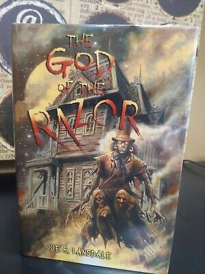 THE GOD OF THE RAZOR Joe Lansdale Hardcover First Edition Subterranean Press