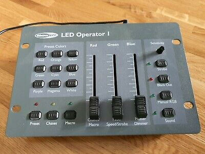 Showtec LED Operator 1 DMX Controller 3 channel - stage lighting effects