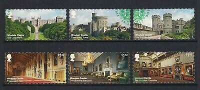 GB used stamps - 2017 Windsor Castle, fine used, ex FDC