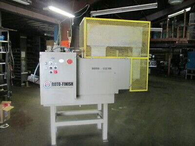 Roto-Finish Auger Type Heated Parts Dryer
