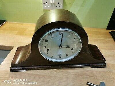 Vintage Smiths Enfield Mantle Clock Westminster Chimes Spares Or Repairs