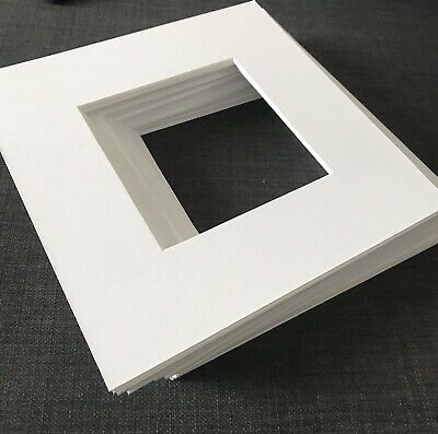 Ikea Ribba Mounts - Pack of 10 Photo/Picture Mounts to fit 23 x 23 Ikea Frame