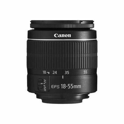 Canon EF-S 18-55mm f/3.5-5.6 III Camera Lens (New in White Box) (Intl Model) Mod