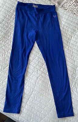 Girls Justice Size 12 Blue Leggings Pants