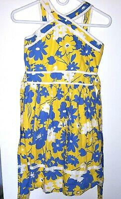 The Childrens Place Girls Soring Summer Cotton Dress Size  14 New Nwot
