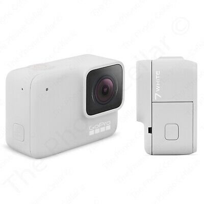 GoPro HERO7 White Action Camera, Touch Screen 1440p HD Video