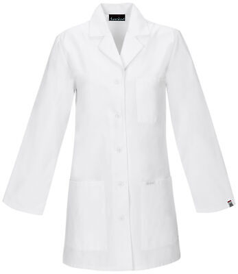 "Cherokee 1462A Women's 32"" Lab Coat Medical Uniforms Scrubs"