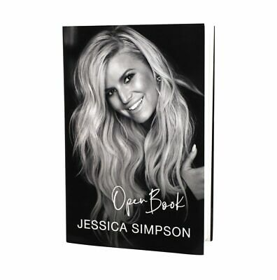 ✔ NEW Open Book  by Jessica Simpson (Hardcover + jacket, 2020)