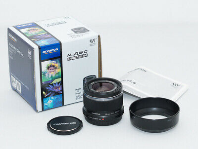 Olympus M.Zuiko 25mm f1.8 Prime Lens Boxed Black