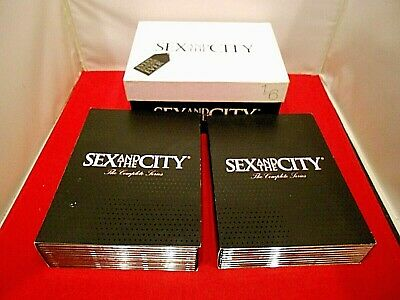 Sex and the City DVD Complete Series 1-6 Shoebox Edition HBO TV Series