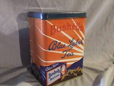 Bushells Blue Label  Tea Tin Large