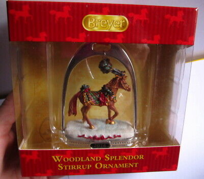 Breyer 2016 * Woodland Splendor * Christmas Stirrup Ornament 700317 NIB