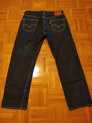 Levis jeans 501 redlines selvedge 36x32 washed and worn once perfect!!