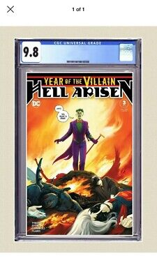 Villain Of The Year: Hell Arisen 3 Cover A CGC 9.8 1st Punchline Preorder