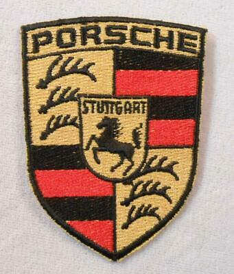 Vintage Automobile Patch - Porsche - German  Built Sports / Racing Car