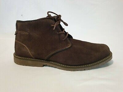 Boys Shoes Kenneth Cole Reaction Size 6 TICS & STONES Brown Suede Leather Boots