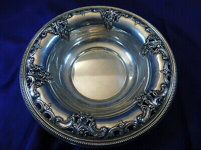 Wallace Grande Baroque Sterling Silver Candy/Trinket Dish #4850-9 - Excellent H