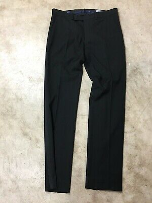 new Mens kenneth cole reaction black dress pants 33X32 02-20