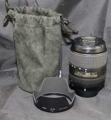 Nikon AF-S 18-300mm f/3.5-6.3G DX VR Wide Zoom Digital SLR Camera with Case