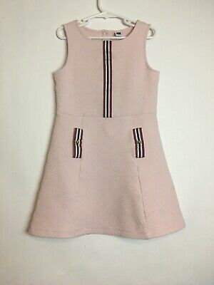 Janie And Jack Girl's Dress Size 8 Pink Color
