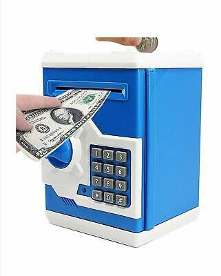 Money Safe ATM Kids Piggy Savings Bank with Electronic Lock Piggy B