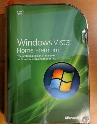 Microsoft Windows Vista Home Premium 32-bit English OEM: Full Retail/License/KEY