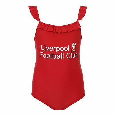 Liverpool FC Junior Red Swimming Costume LFC Official