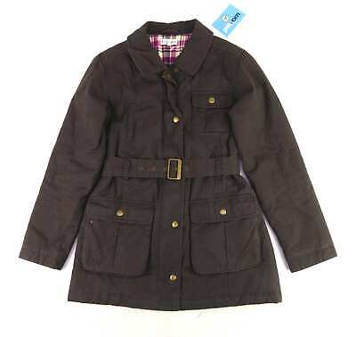 Marks & Spencer Girls Brown Warm Padded Winter Autumn Coat Age 11-12