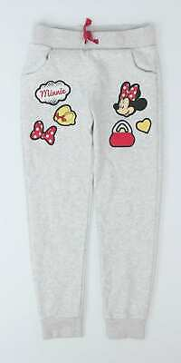 Disney Girls Grey Jogging Bottoms Age 5-6